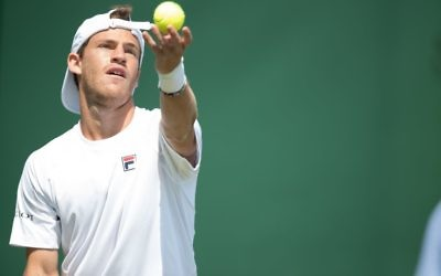 Diego Schwartzman suffered a second round exit on Thursday. Picture: Marc Morris