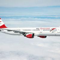 Austrian Airlines plane