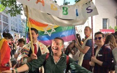 Emma Jacobs at Pride