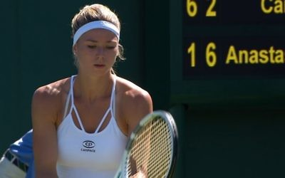 Camila Giorgi is through to the second round at Wimbledon