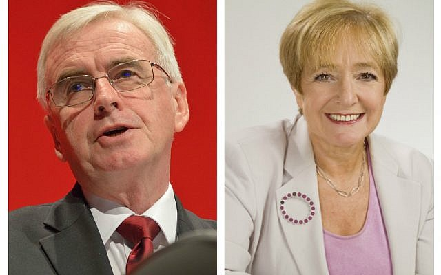 John McDonnell and Margaret Hodge