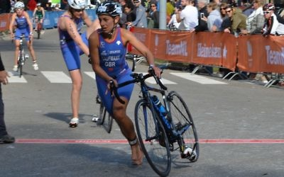 Karina Kaufmann will once more be representing GB, this time at the Duathlon World Championships at the weekend
