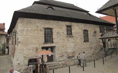 Kazimierz Dolny's old synagogue