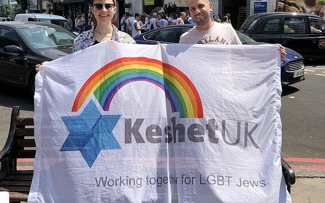 KeshetUK led the delegation of more than 150 people, which also included West London Synagogue, Gay Jews In London and Parents of Jewish Gays and Lesbians
