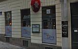 Kosher restaurant on Tabor Street, Vienna
