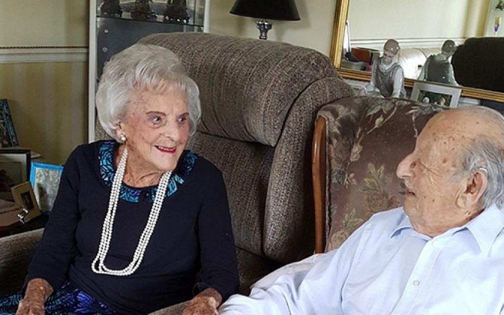 Maurice Kaye and his wife Helen