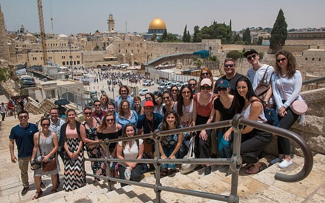 Oxford MBA candidates during the first ever Israel trip for the University's business school