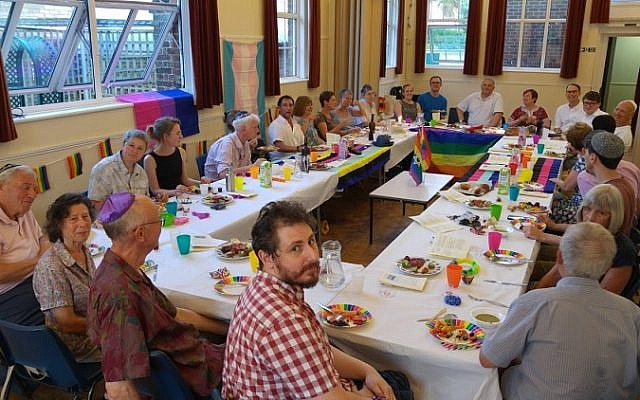 Kingston Liberal Synagogue hosted a special Pride Seder on Friday night