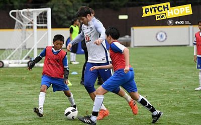 Chelsea FC and World Jewish Relief have launched the Pitch for Hope competition