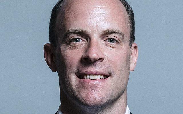 New Brexit Secretary Dominic Raab
