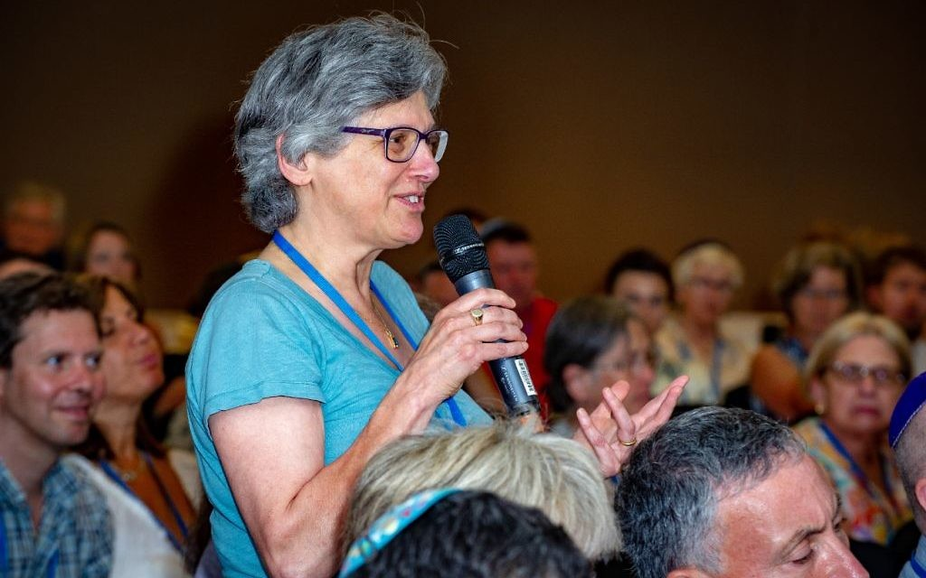 Rabbi Margaret Jacobi asks a question