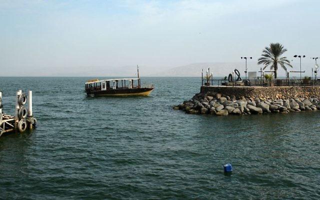 Sea of Galilee, Tiberias, Israel.