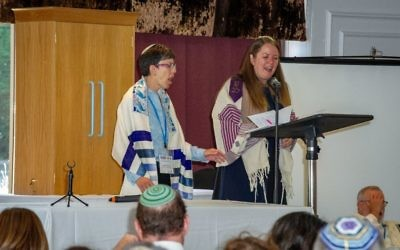 Shabbat morning service led by Rabbis Elli Tikvah Sarah and Lea Muhlstein