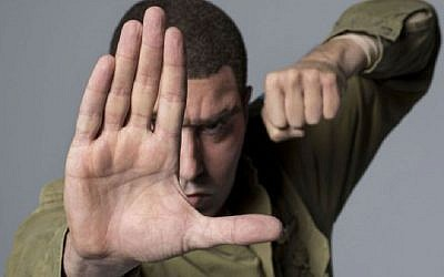 Sacha Baron Cohen pictured in 'Who Is America?'