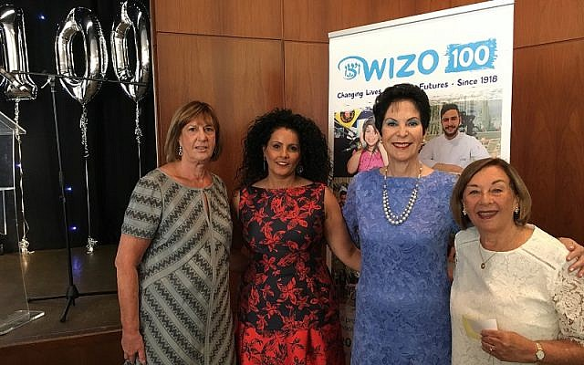 Loraine Warren (outgoing President, now Honorary President); Ronit Ribak Madari (Chairman); Professor Rivka Lazovsky, (Chairperson of World Wizo); Michele Pollock (outgoing Chairman, now President)