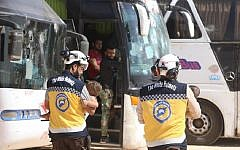 The White Helmets are a group of volunteers  who provide search and rescue services in response to bombing and evacuations of civilians from danger areas