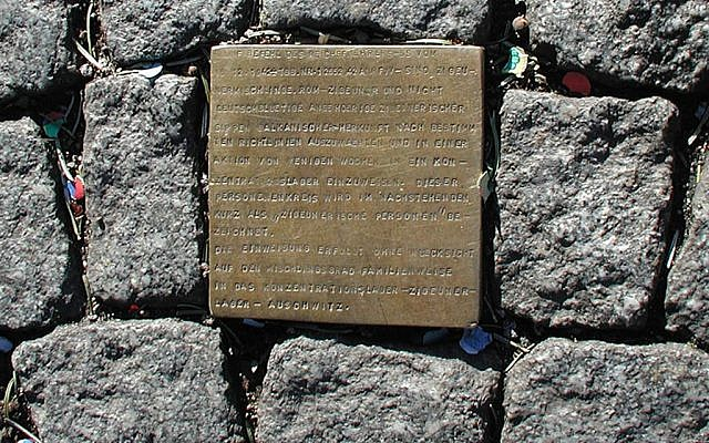 Stolperstein - or stumbling stone