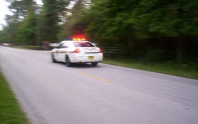 Jacksonville Sheriff's Office responding to an emergency