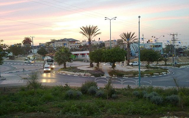 Rahat, the largest Bedouin city in the Negev