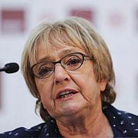 Abuse levelled at Dame Margaret Hodge was cited during the committee hearing.  Photo credit: Yui Mok/PA Wire