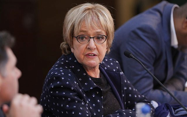 Dame Margaret Hodge. Photo credit: Yui Mok/PA Wire