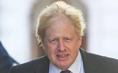 Boris Johnson. Photo credit: Victoria Jones/PA Wire