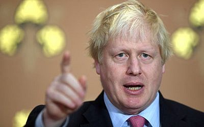 Boris Johnson. Photo credit: Victoria Jones/PA Wire