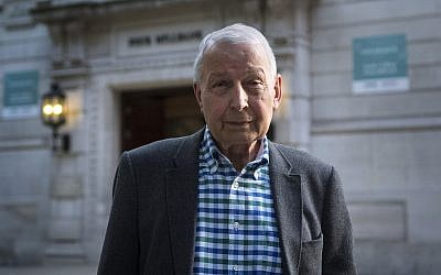 Frank Field MP. Photo credit: Victoria Jones/PA Wire