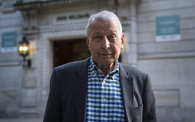 Frank Field MP. Photo credit: Victoria Jones/PA Wire