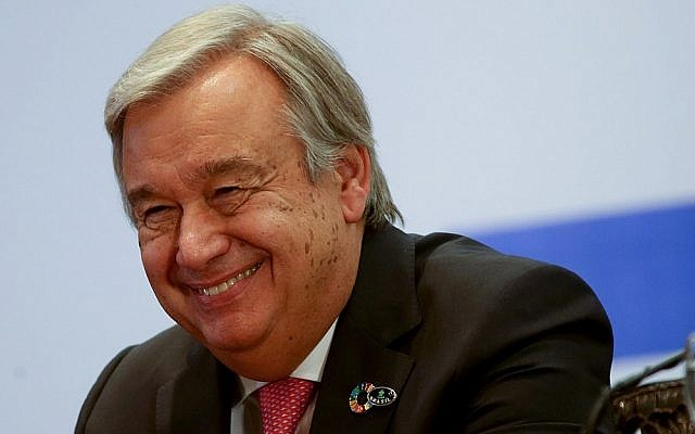 Antonio Guterres. Picture: Wilson Dias/Agência Brasil