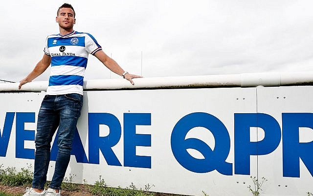 Tomer Hemed says he hopes to turn around the fortunes of the struggling west London side. Picture: QPR FC