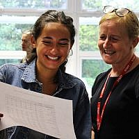 Immanuel College students receive A-Level results