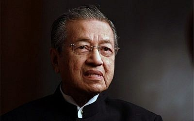 Malaysia's leader, Mahathir Mohamad