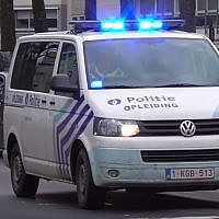 Van of Belgian Local Police