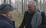 Robert Rinder was overwhelmed to meet Sir Ben Helfgott at Schlieben, a sub-camp of Buchenwald, where his grandfather was a forced labourer during the Second World War