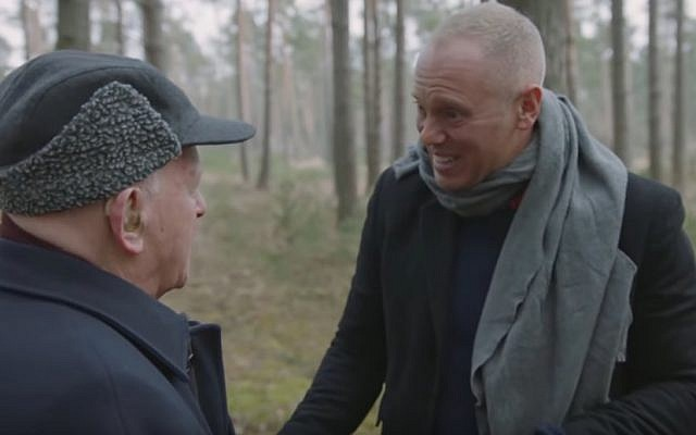 Robert Rinder was overwhelmed to meet Sir Ben Helfgott at Schlieben, a sub-camp of Buchenwald, where his grandfather was a forced labourer during the Second World War