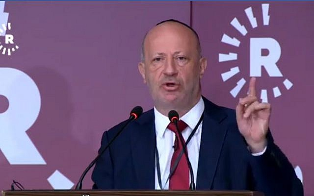 Edwin Shuker at the Rudaw International Conference on the Yazidi Genocide