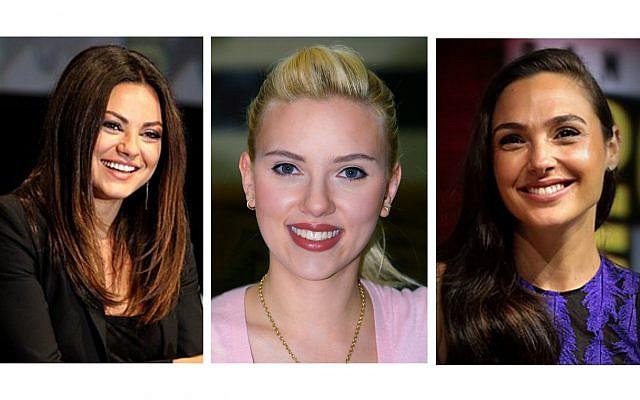Mila Kunis , Scarlett Johansson and Gal Gadot