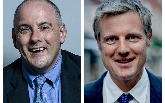 Robert Halfon and Zac Goldsmith have complained to party HQ