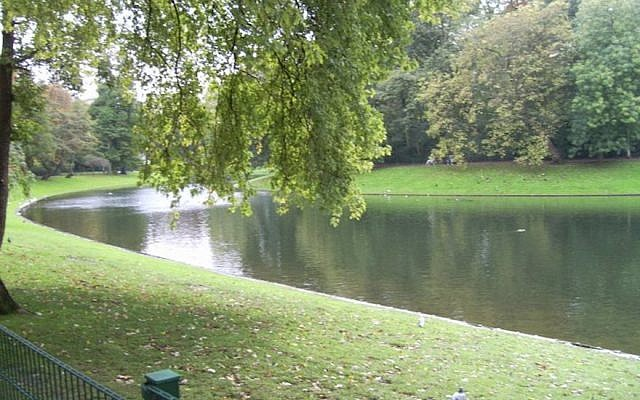 A view of the Stadspark pond in Antwerp, Belgium. (Tony Wicks/Facebook)