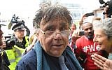 Peter Willsman arriving for a meeting of the Labour National Executive Committee in London. Photo credit: Stefan Rousseau/PA Wire