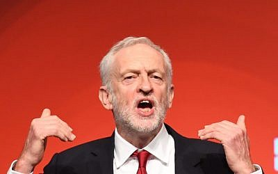 Labour leader Jeremy Corbyn - his response of being present but not involved 'doesn't wash'