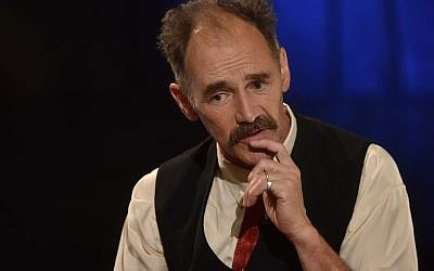 Sir Mark Rylance. Photo credit: Jeff Overs/BBC/PA Wire