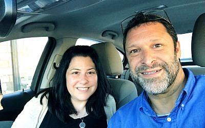 Sarri Singer with Ari Fuld