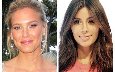 Bar Refeali and Kim Kardashian