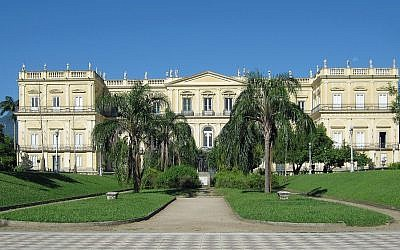 Brazil National Museum. Picture: Halley Pacheco de Oliveira