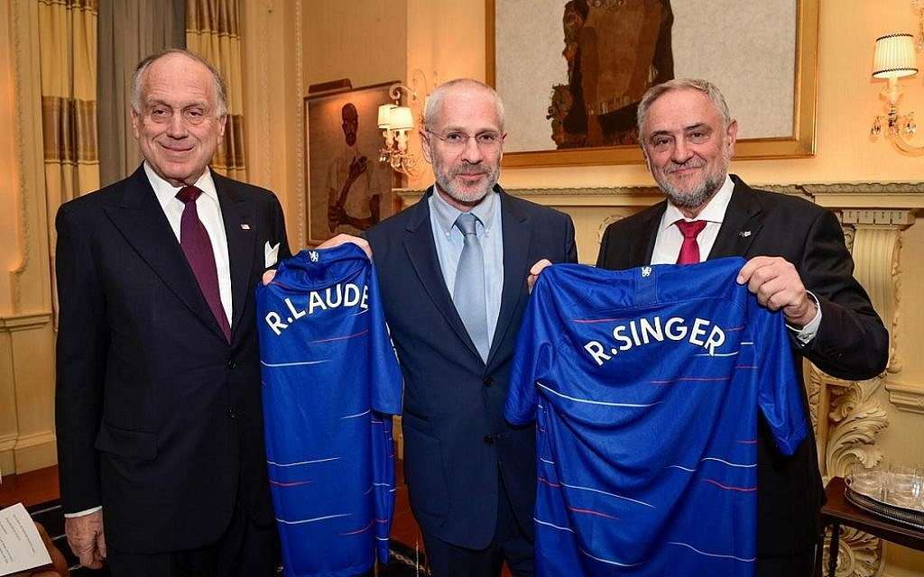 Chelsea FC and World Jewish Congress to host globa...
