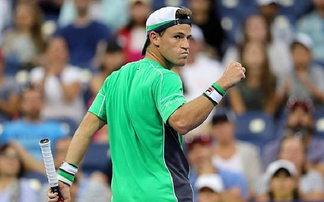 Diego Schwartzman has been knocked out of the US Open