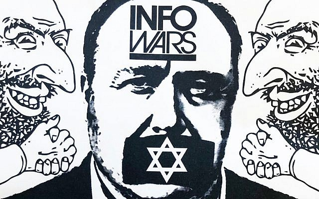 The anti-Semitic flier which was posted near five San Francisco synagogues