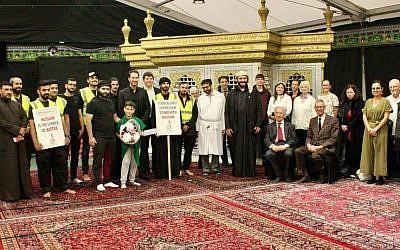 Jewish and Muslim communities came together on Yom Kippur  (Credit: Daniel Mackintosh)